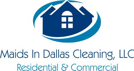 maids in dallas cleaning logo